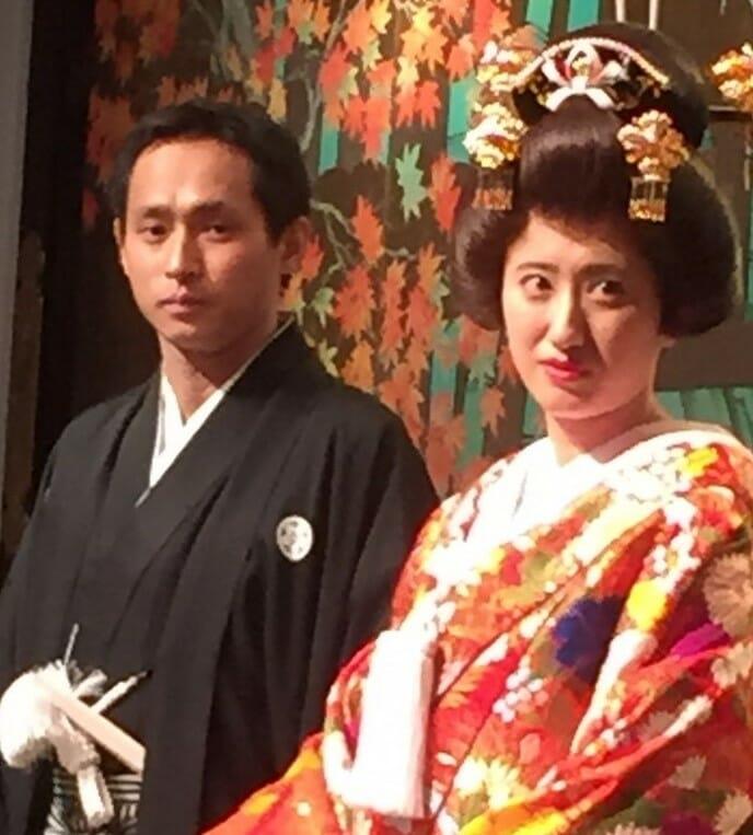 ~白無垢の相良刺繍が絶賛されて~ Yusuke and Maiko  明治神宮・明治記念館