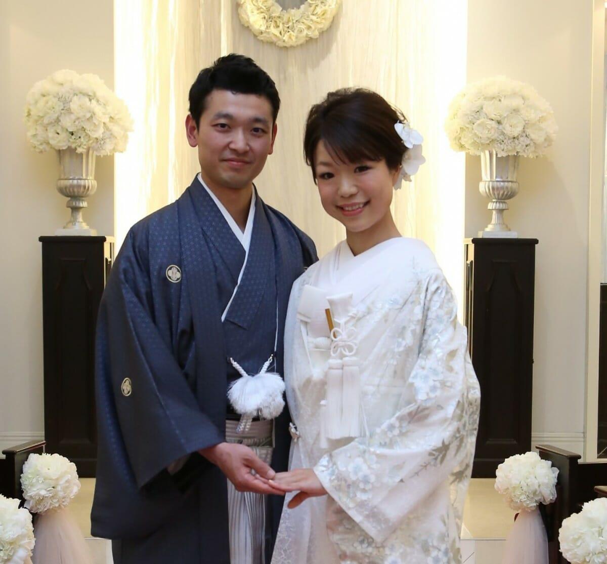 ~運命の出会い・オーガンジー打掛~  Toshiki and  Yumi   山手迎賓館