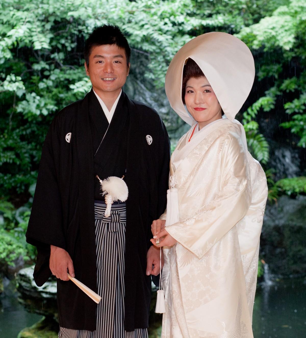 ~和風会場に合わせて~Teruyuki & Akiko  つきじ治作