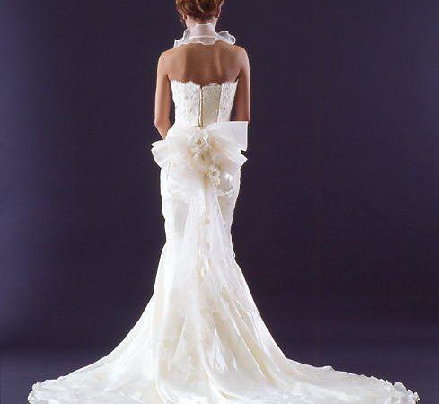 白ドレス W-003