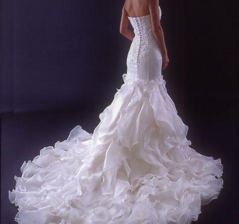 白ドレス W-004