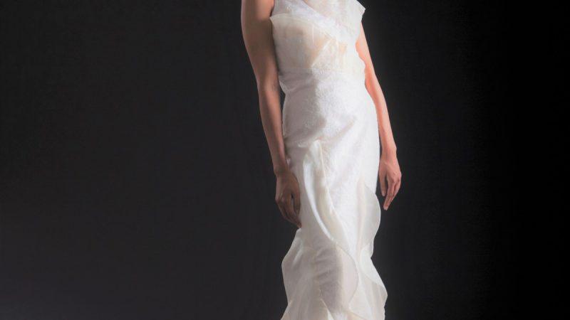 白ドレス W-005