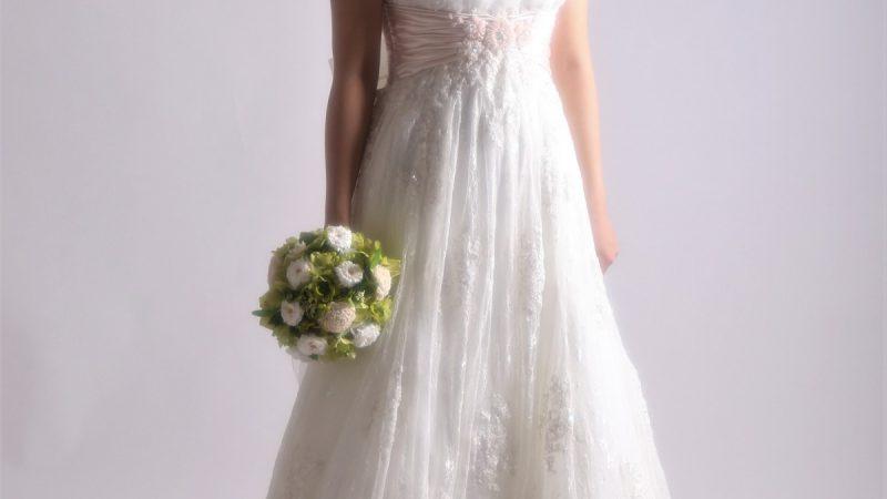白ドレス W-010