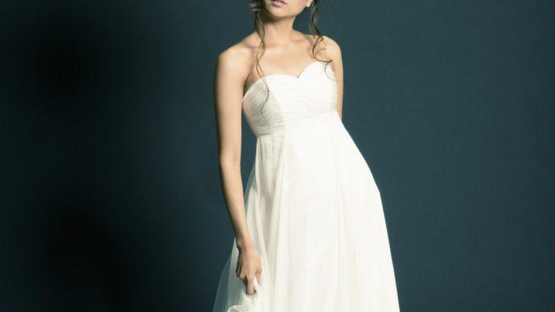 白ドレス W-011
