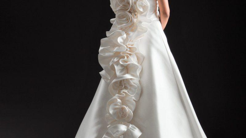 白ドレス W-015