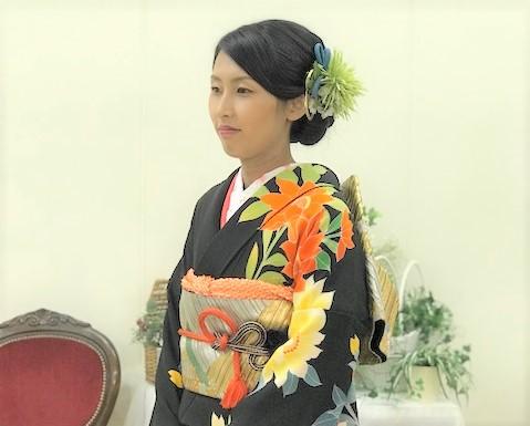 ~花嫁衣装にお義母さまの振袖~