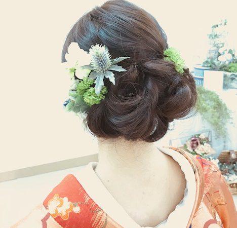 〜洋髪和装でリハーサル〜
