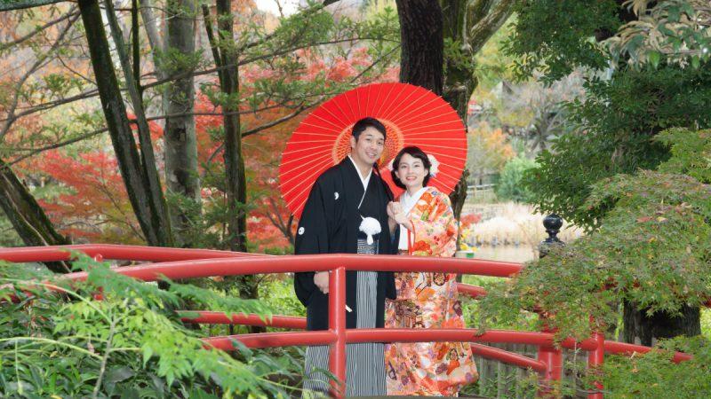 〜秋の紅葉でロケーションフォト〜