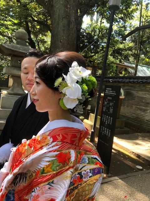 赤坂氷川神社の挙式