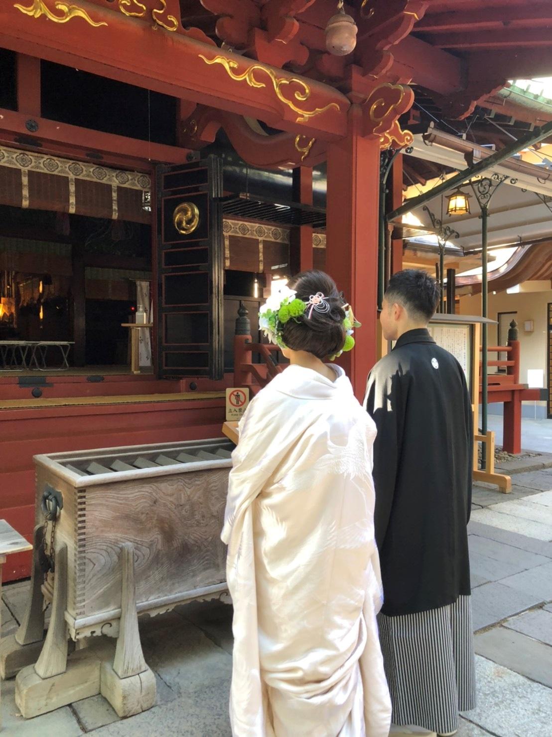 赤坂氷川神社 結婚式